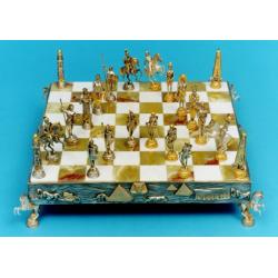 SCACCHIERA ROMANI/EGIZIANI (bordo piramidi)