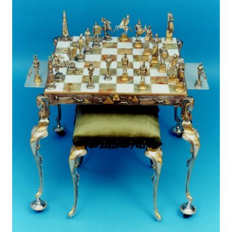 SCACCHIERA GRECO/EGIZIANA (stile barocco)