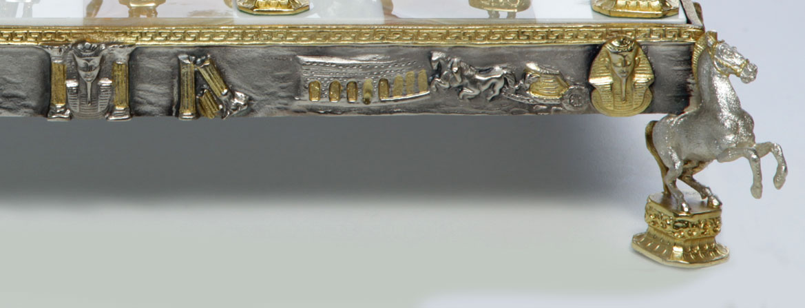 Detail based chessboard
