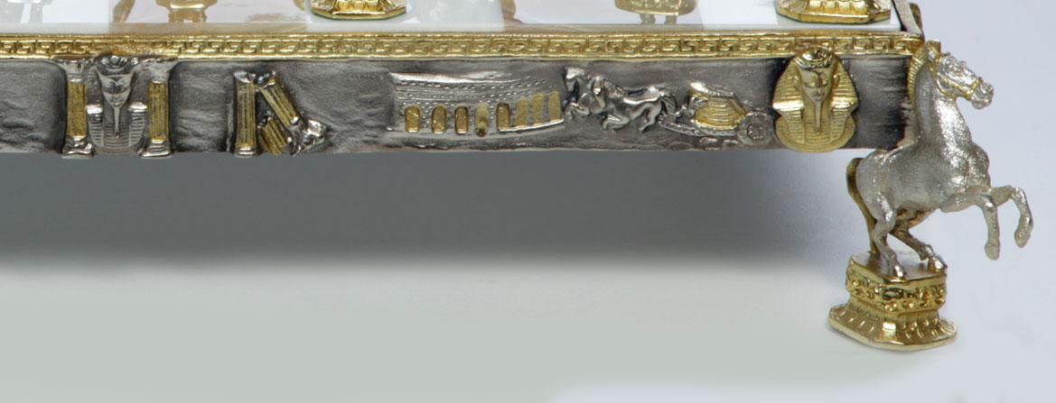 Detail base chessboard